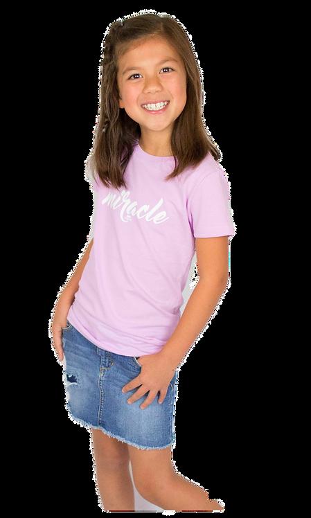 Miracle Youth Princess Tee (Lilac)