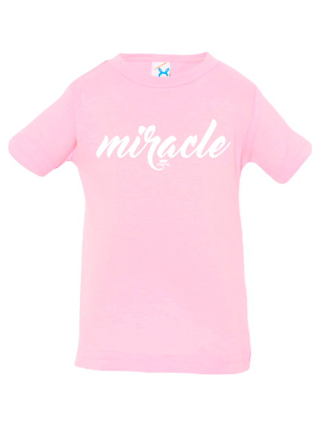 Miracle Infant Tee (Pink)