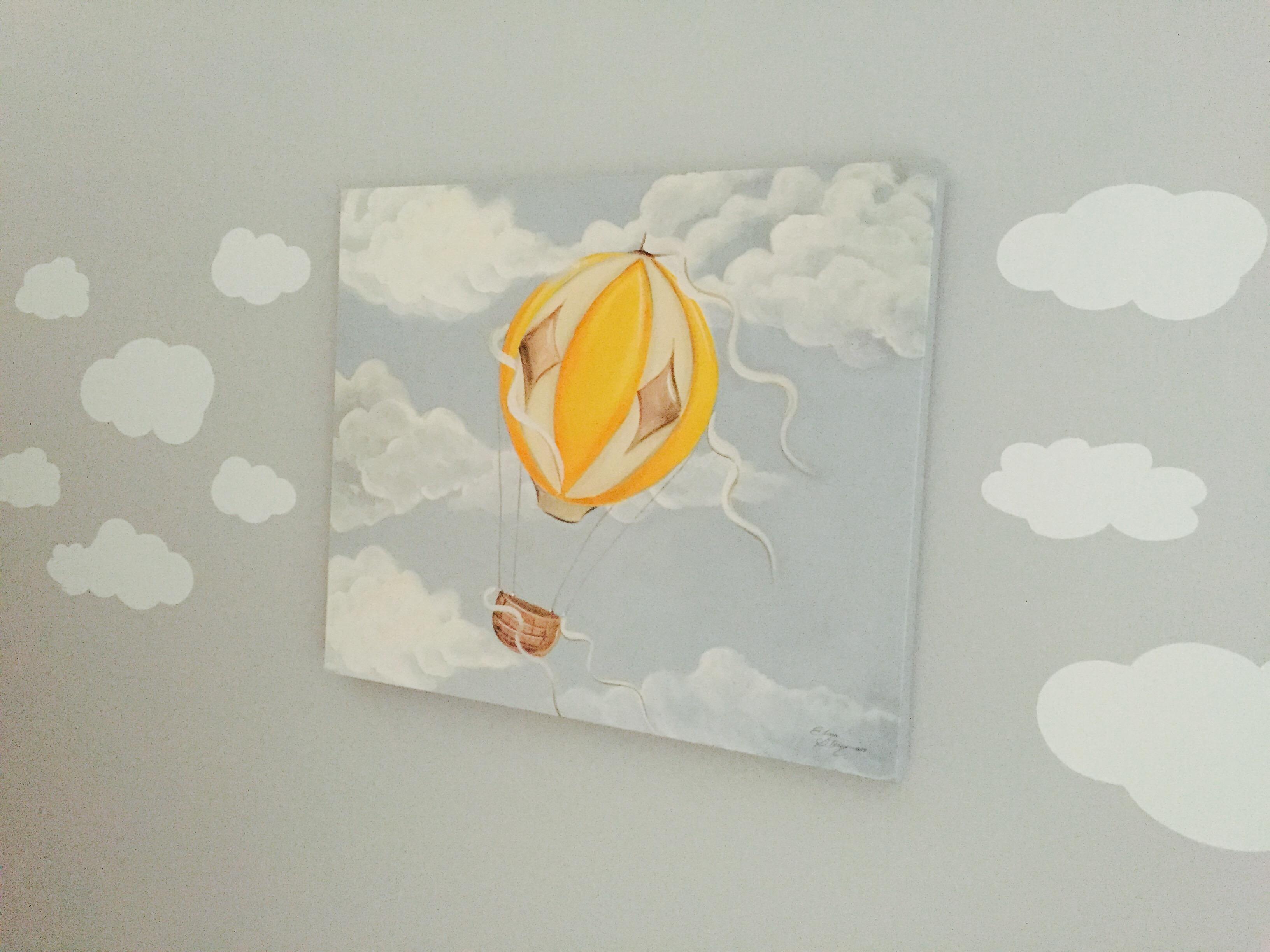 Mural Max Hot Air Balloon Canvas