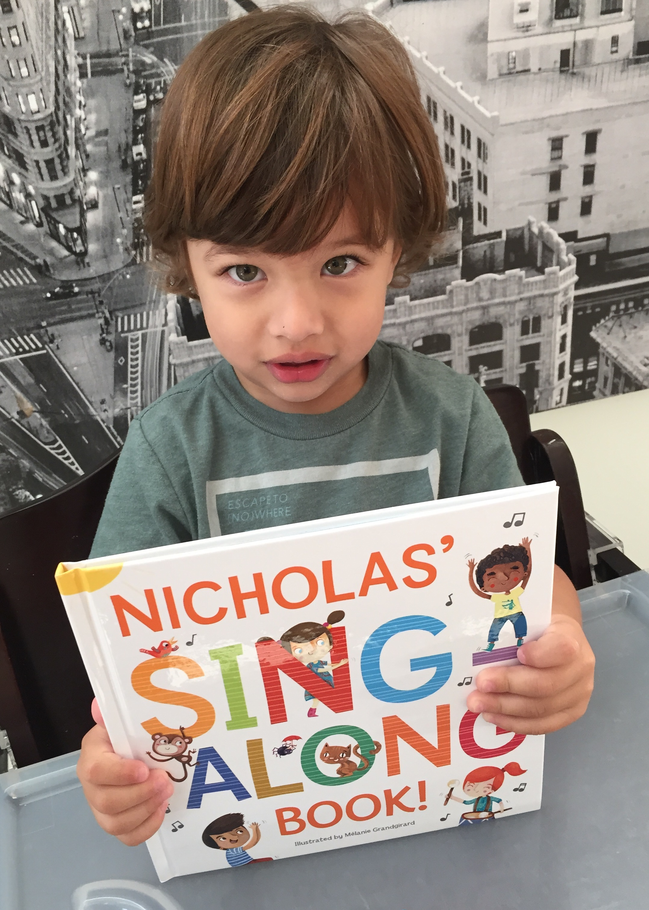 Sing Along Book & CD