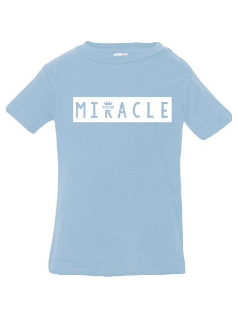 Miracle Infant Tee (Light Blue)