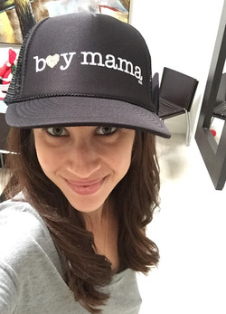 Boy Mama Hat by Mother Trucker & Co.