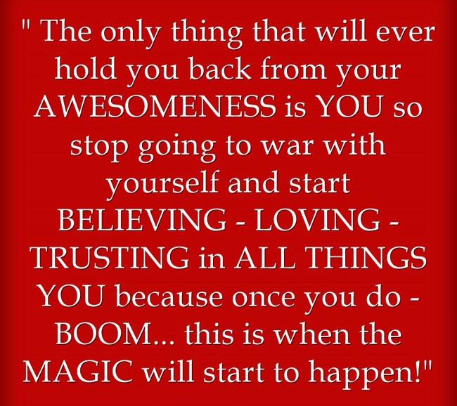 BOOM! Here comes the MAGIC!