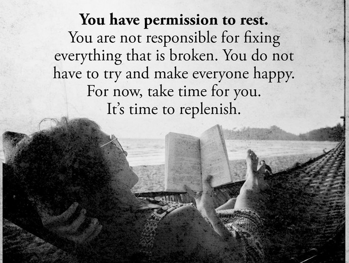 Permission to Rest!