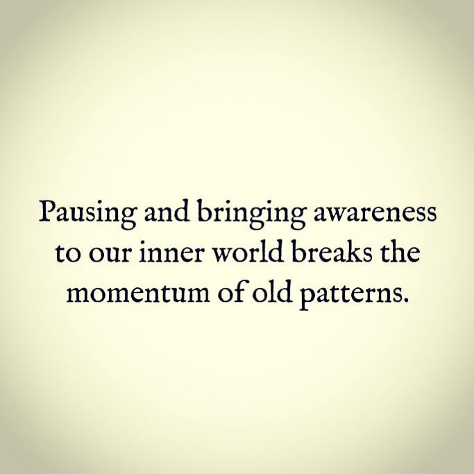 Pushing Pause