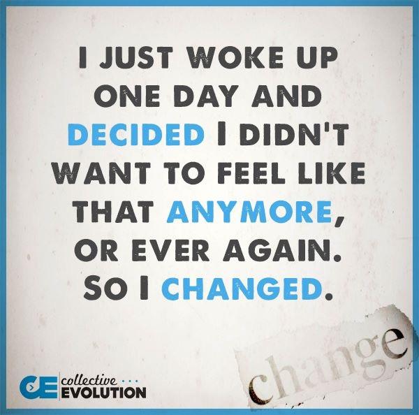 Change...not again!