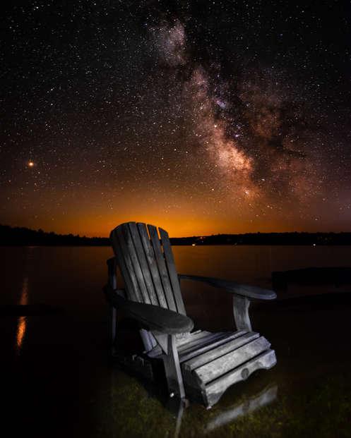 Muskoka, Mars, Milky Way