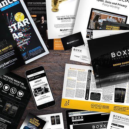 Cyberboxx Instagram boxx insurance print