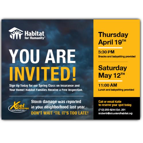 Habitat Postcard, 1000 count