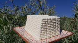 Telemea 40lei/kg, cuburi de 6-700g