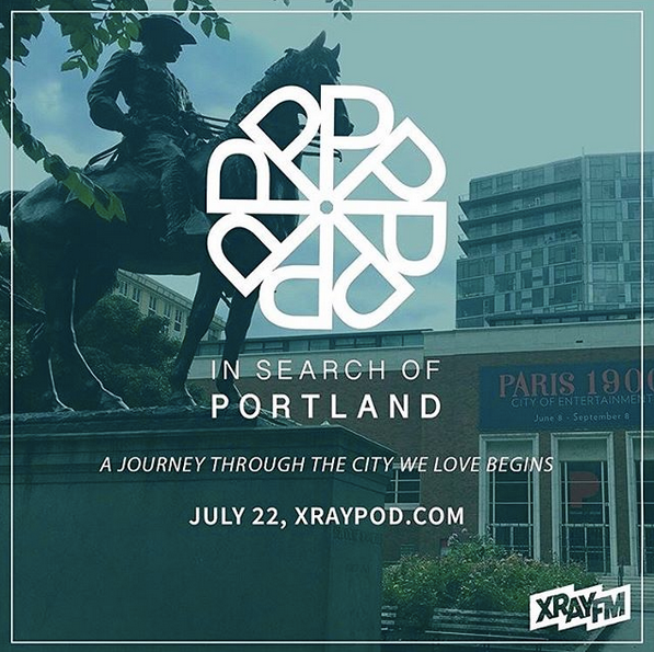 In Search of Portland - Logo