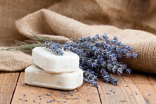 Lavender Goat's Milk Handmade Soap 120g, Pack of 3