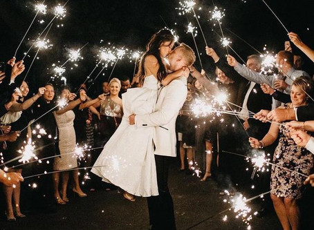 New Years Eve... a one-of-a-kind wedding
