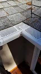 New Gutter Protection Install With Gutter Cleaning