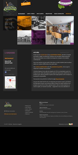 Webdesign responsive compatible smartphones, tablettes, ordinateurs fixes
