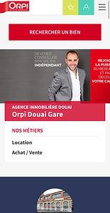 Site internet agence immobilière