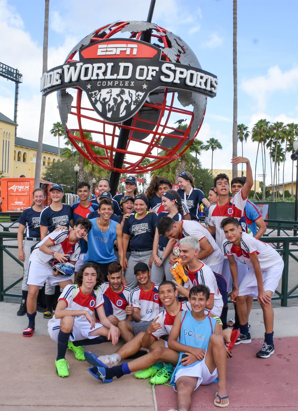 Despedida do Complexo ESPN da GO USA pela Disney Cup 2017