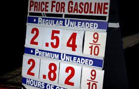 Preço gasolina nos EUA