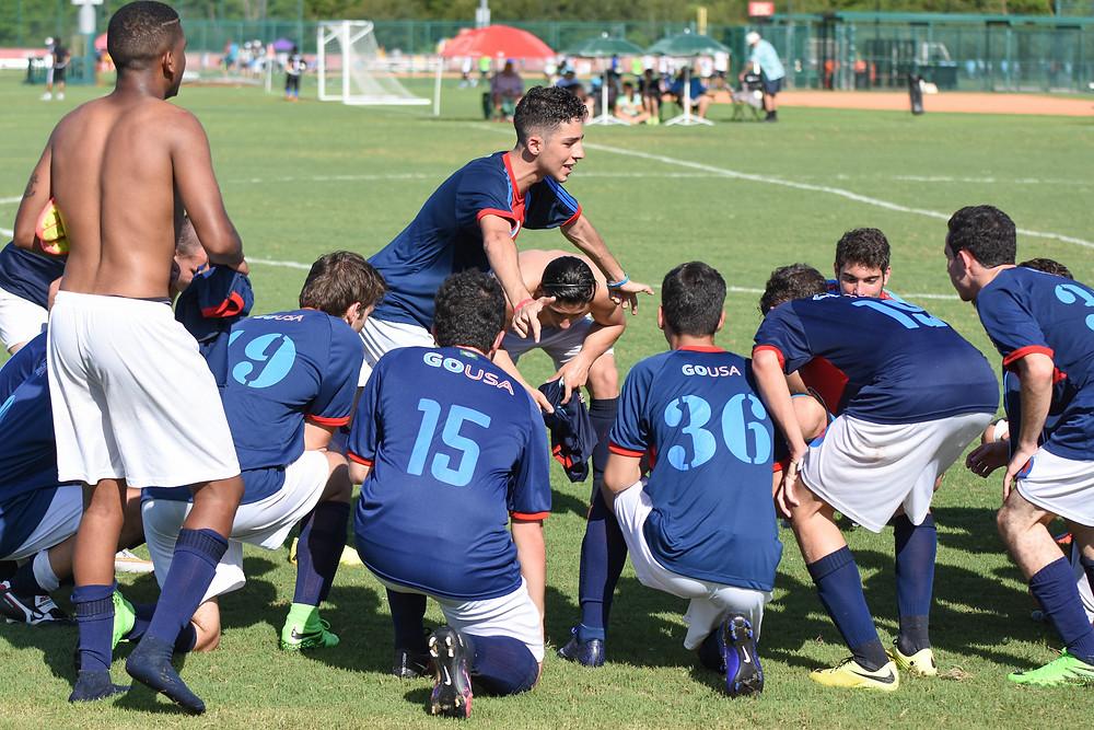 Disney Cup semi-final GO USA