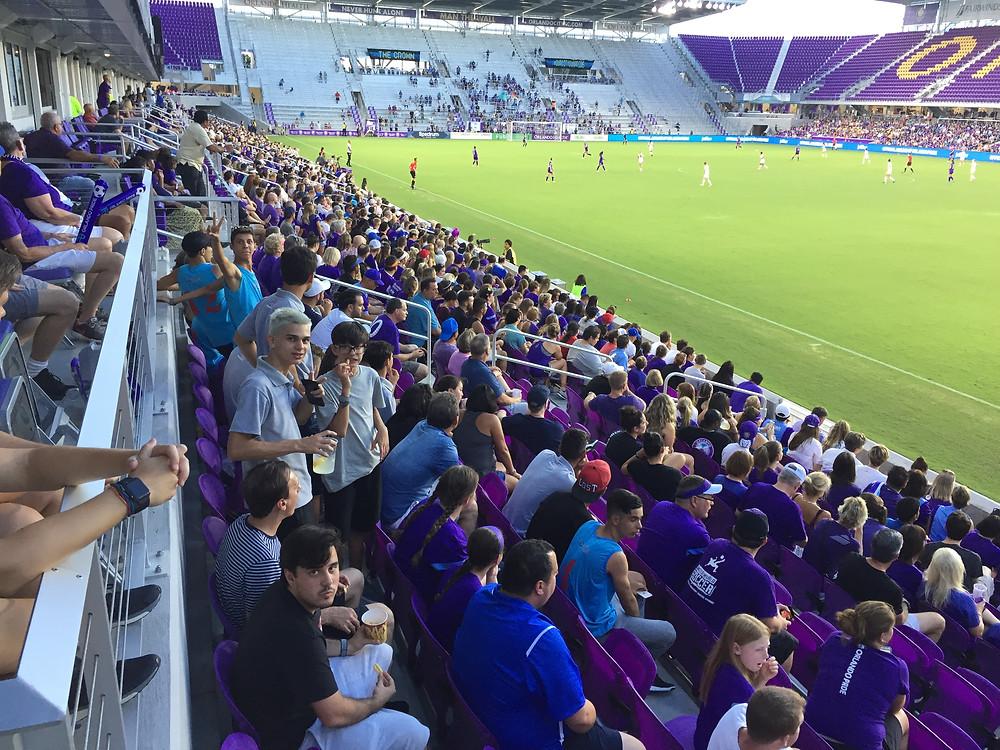 #rapaziada no estádio do Orlando City acompanhando jogo das craques Marta e Camilinha em visita no torneio Disney Cup 2017 pela GO USA
