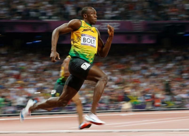 Usain Bolt e corrida