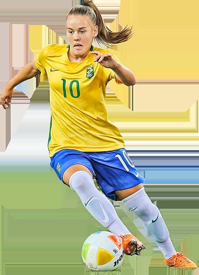 Andressinha camisa 10 seleção brasileira