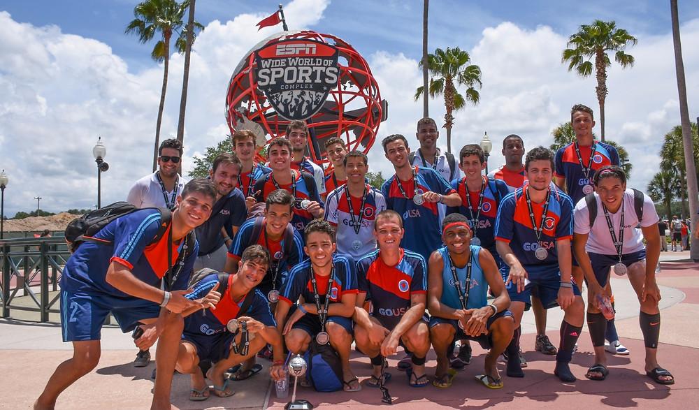 Equipe Disney Cup - Vice campea GO USA