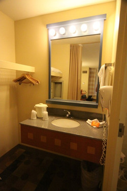 Outra parte do banheiro GO USA