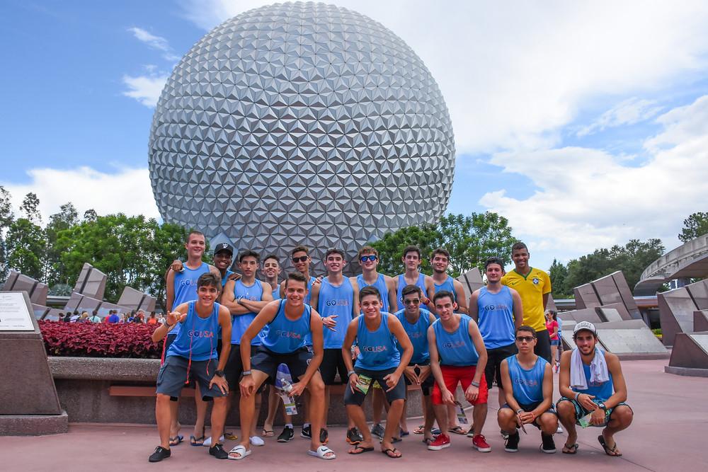 Equipe GO USA na Disney Cup em 2016 e 2017