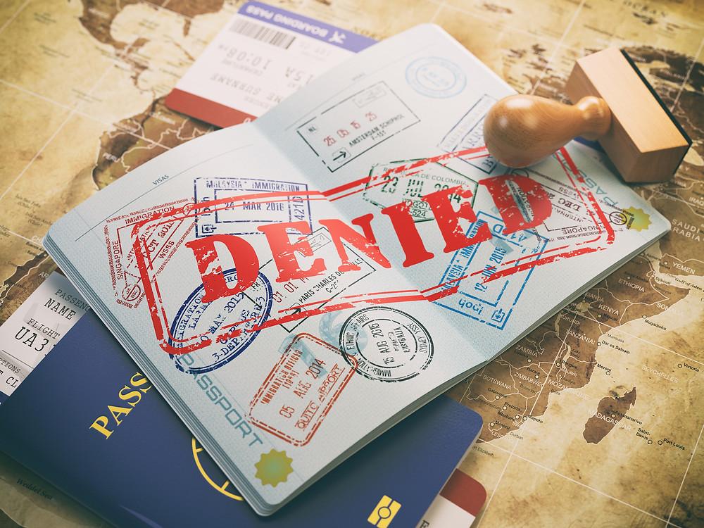Se teve algum visto negado, não se desespere. Leia antes este artigo e saiba mais!