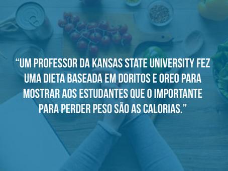 Professor da Kansas State University Faz Dieta Maluca