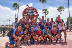 Foto na Bola ESPN GO USA Disney Cup