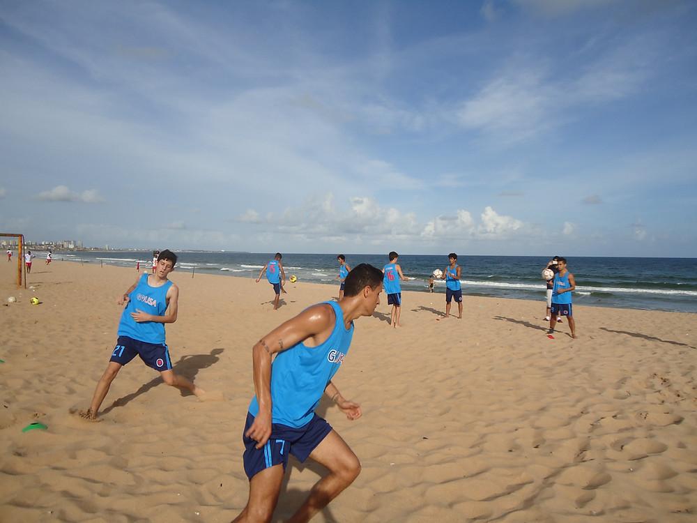 treinamento de futebol para os EUA