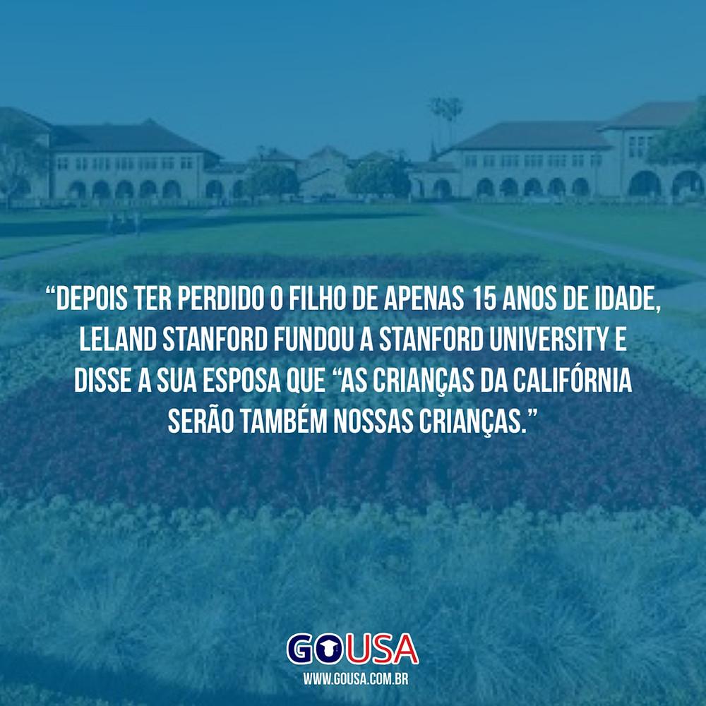 Leland Stanford cria a universidade de Stanford após o falecimento do seu filho.