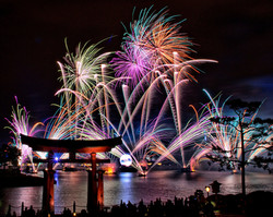 Fireworks show GO USA