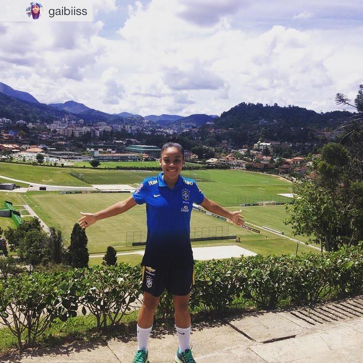Gabizinha (Atleta Go Usa convocada para seleção brasileira Sub-20 e 100% de bolsa)