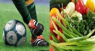 esporte e alimentação