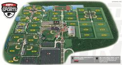 Mapa da ESPN Disney Cup GO USA