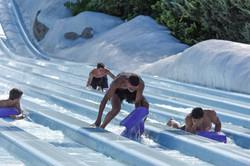 Atletas no Blizzard Beach
