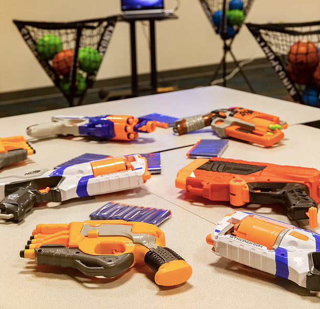 National Conference Center NERF Teambuilding
