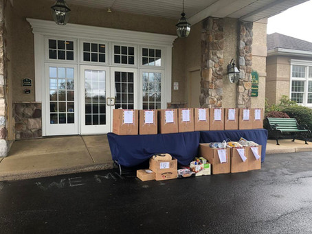 Blue Bell Country Club calls for donations to help food pantries