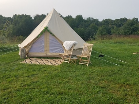 Goodstone Launches Luxury Glamping Accommodations - For The Ultimate Socially Distant Event Experien