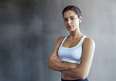 Confident Fit Woman