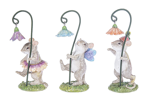 Mouse flower parade