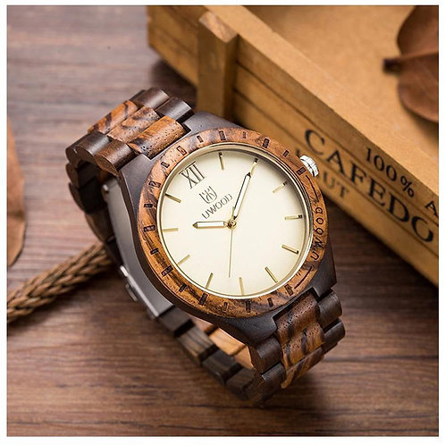 Multi Color Wooden Watch