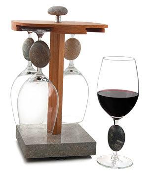 Stone Wine Glass Pirouette