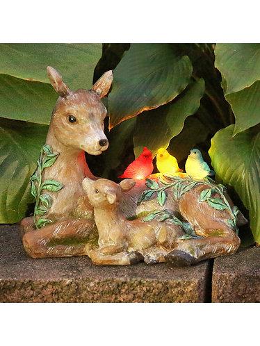 Solar Deer Family