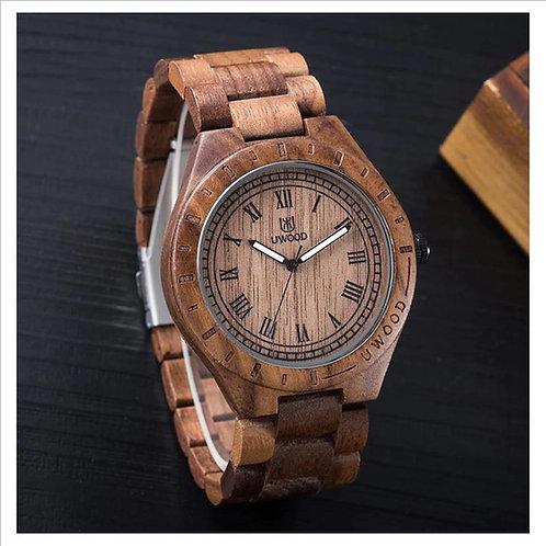 Brown Wooden Watch