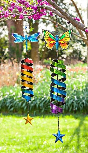 Garden Friend Spiral Kinetic Spinner