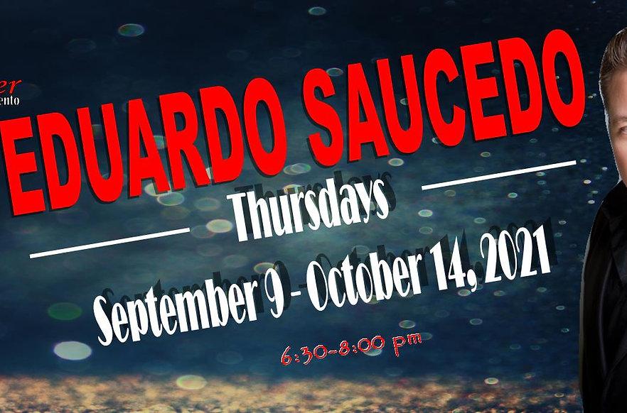 Thursdays with Eduardo Saucedo